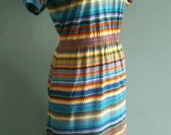 Vintage Diane Von Furstenberg t-shirt dress.