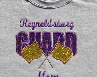 Color Guard Mom Tee Shirt Gift, Color Guard Shirt, Colorguard Mom Shirt Gift, Color Guard Coach Shirt Gift, Drill Team Shirt Gift