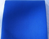 16 count Royal blue Aida - Cut Piece 90 x 50cm, Cross stitch fabric, easy fabric to work with. 16 count Aida fabric. Aida. Christmas Fabric.