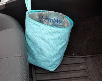 Car Trash Bag Litter Bag With Disposable Liner
