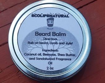 SALE 2 oz Beard Balm Natural Products