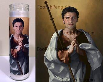 Poe Dameron Devotional Candle