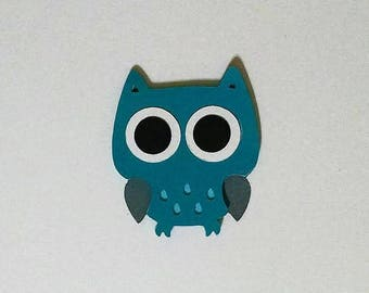 24 Owl die cuts - 2 inches tall