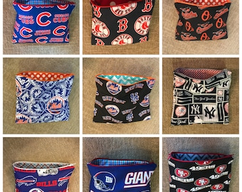 Zipper Pouches  (travel, gifts, etc)