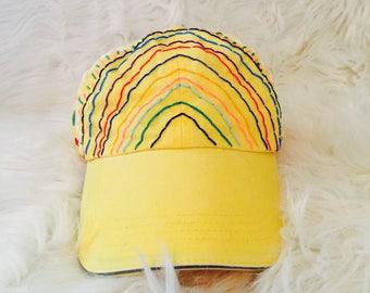 Rainbow Mountain Dad Hat