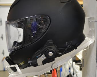 Helmet Holder for the Biker who wants to protect his stuff!