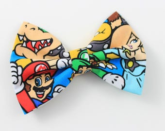 New! Super Mario Brothers Hairbow