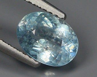 1.33 Ct Natural Lite Blue AQUAMARINE