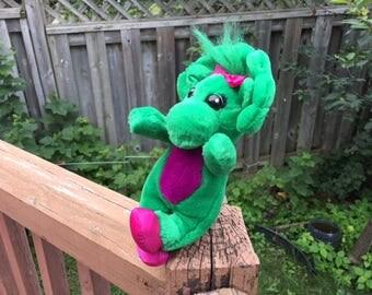 Baby Bop Dinosaur Plush Toy Stuffed Animals  / Character Barney the Dinosaur /