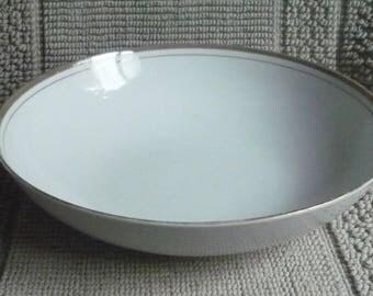 Serving Bowl by Royalton China Co ~ Translucent Porcelain