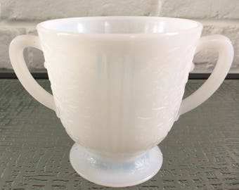 MacBeth - Evans Glass  American Sweetheart Monax Sugar Bowl