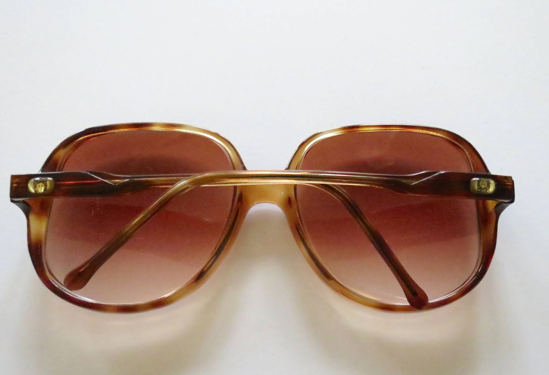 Anne Klein Sunglasses 70s Sunglasses 80s Designer Oversized Large ...