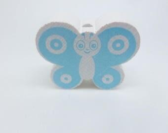 A wooden Butterfly shape bead