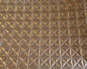 50x70cm gold leatherette