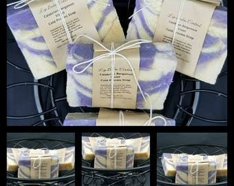 CALABRIAN BERGAMOT and VIOLET Cold Process Soap