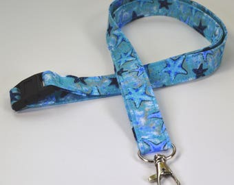 Starfish Lanyard - ID Holder