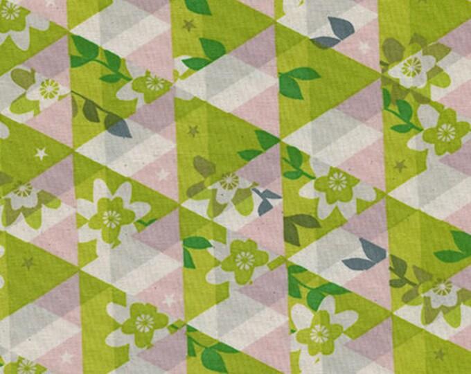 Pre-Sale- Kaleidoscope in Citron -Flutter -Melody Miller for Cotton + Steel