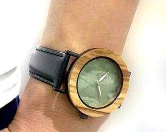 Wooden watch, quartz watch, bamboo watch,sportiv