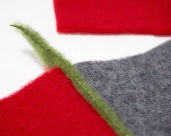 scarf in organic wool