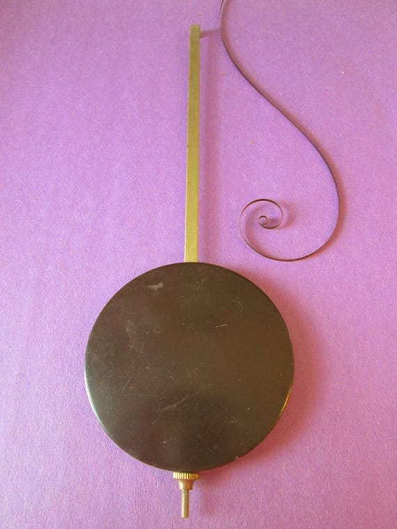 """1 8 1/4"""" Clock Pendulum with a 2 3/4"""" Bob for your Clock Projects"""