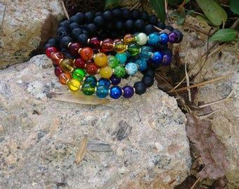 Chakra Healing Diffuser Bracelet