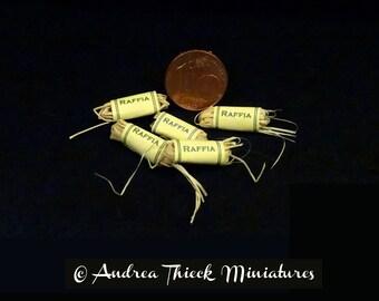 Miniature Raffia - 1-12 scale