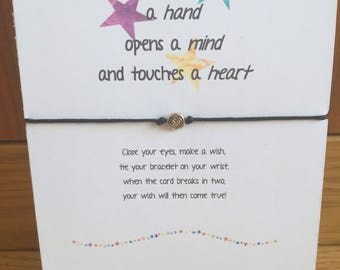 Wish String Bracelet Friendship Bracelet Teacher Gift