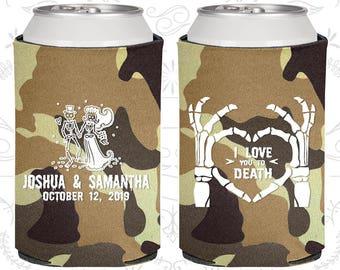I Love you to Death, Sugar Skull Wedding Favors, Day of the Dead Wedding Favors, Candy Skull Wedding, Dia De Los Muertos Wedding (204)