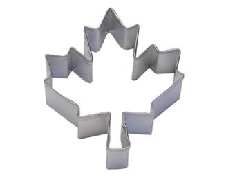3'' Canadian Maple Leaf Cookie Cutter