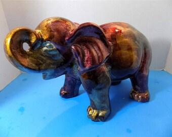 NEW Rare Hindu Good Luck Elephant Figurine Home Decor Zen Gift Oriental Artistic