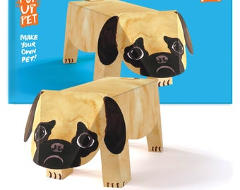 Pop Up Pet Dog - Pug