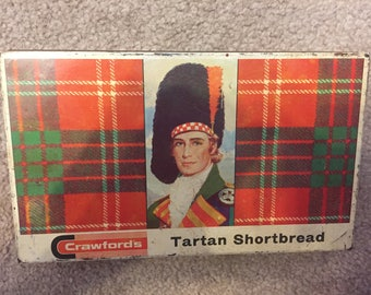 Tartan Shortbread Tin