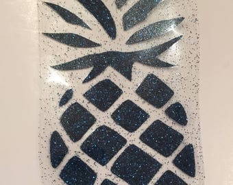 Pattern pineapple fusible