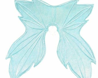 Seafoam Holographic Wireless Fairy Wings Sparkly Holographic Shiny Faerie Fae Elf Elvish (Wings Only) - 154762