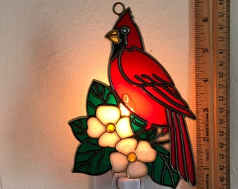 Cardinal Night Light