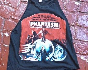 SUMMER SALE Phantasm Distressed Slashed T-shirt