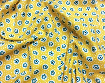 Michael Miller Peacock Lane Sprinkle Dots DC5086 Yellow Patchwork Quilting Fabric