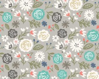 Heart & Soul - Main Gray by Deena Rutter for Riley Blake Designs, 1/2 yard, C6700-Gray