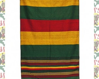 Ethiopian Traditional Woven Cotton Shawl (Scarf-a15)