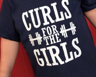 Curls for the Girls tee