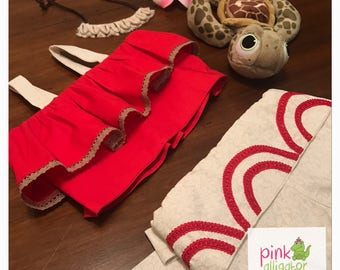 NOVEMBER delivery - Baby Toddler Moana Bubble Shorts ONLY - Costume Shorts Birthday
