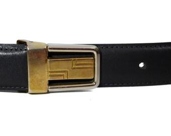 Vintage real leather belt