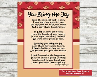 Love Poem Printable, Valentine's Day Poem, Love Print, Gift for Boyfriend, Husband, Husband Poem, Wife Poem, Valentine's Day Card