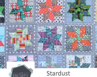 Jen Kingwell STARDUST /STAR Dust QUILT Pattern By  Jen Kingwell Designs