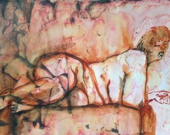 Amedeo Modigliani. Reclining Nude. c. 1919   MoMA