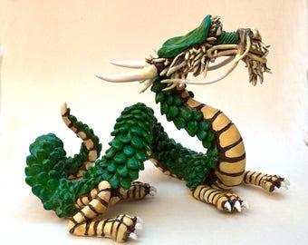 Dragon.  Korean Style pottery dragon Ceramic