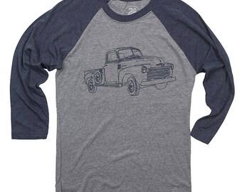 Vintage Truck Baseball Tee