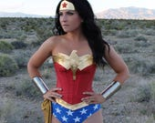 Classic star spangled WW costume to FRANCE