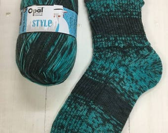 Unique 9541  - Style 4 ply Sock Yarn by Opal - sock wool - sokenwolle