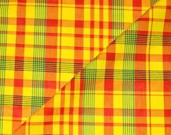 Madras Fabric Etsy